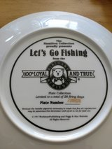 Hamilton edition plate let's go fishing in Sanford, North Carolina