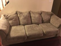 Tan Couch in Oswego, Illinois