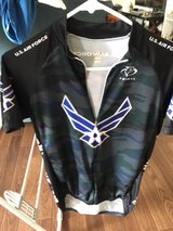 Air Force cycling Jersey in Okinawa, Japan