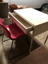 White desk w/pink chair in Camp Pendleton, California