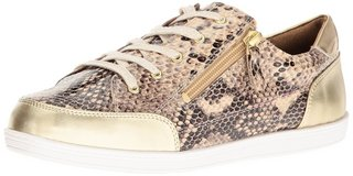 NEW Soft Style by Hush Puppies Women's Fairfax Oxford Bone Python Size 7.0 Wide in Hinesville, Georgia