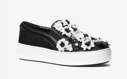 MICHAEL Michael Kors TRENT Floral Sequined Slip-On Sneakers Shoes US 7.0, 7.5, 8.0, 8.5, 9.0 in Hinesville, Georgia