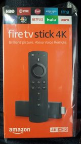 Amazon Fire TV Stick 4k sealed or loaded options in Okinawa, Japan