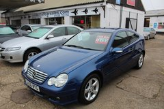 **MERCEDES C180 COUPE** FREE ROAD TAX!! 6 MONTHS WARRANTY!! in Lakenheath, UK