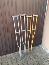 crutches in Ramstein, Germany
