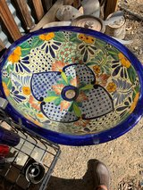 Ceramic sink in Yucca Valley, California