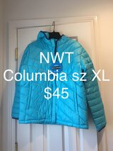 NWT Girls Columbia Winter Coat Size XL in Naperville, Illinois