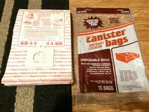 Kenmore Disposable Canister bags (10 - #5055; 1-50558 Micron Filtration) in Glendale Heights, Illinois