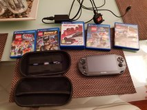 BLACK PS VITA WITH GAMES in Lakenheath, UK