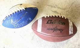 Footballs: Baden Perfection &  Nike 1000J in St. Charles, Illinois