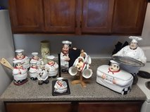 Chef ceramic set in Fort Sam Houston, Texas