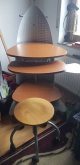 stand up desk with stool in Stuttgart, GE