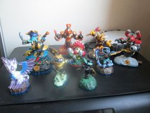 10 SKYLANDER FIGURES & PORTAL OF POWER in Lakenheath, UK