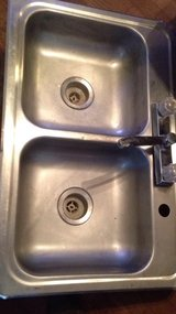 stainless steel double kitchen sink in Lawton, Oklahoma