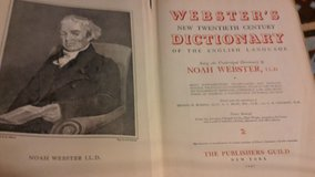 Webster's New Twentieth Century Dictionary of the English Language (unabridged) in Fort Leonard Wood, Missouri