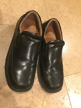 Boys black loafers / dress shoes sz 6 in Naperville, Illinois