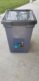 Pet Food Container (Brand New) in Camp Lejeune, North Carolina