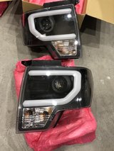 2011 F-150 Headlights-LED Daytime running light bar in Fairfield, California