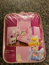 DISNEY 4-Piece Toddler bed set LIKE NEW! in Joliet, Illinois