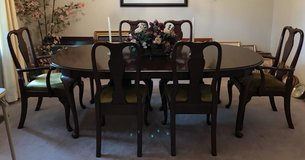 Ethan Allen dining set with 6 chairs in Fort Campbell, Kentucky