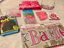 various Bach party supplies in Okinawa, Japan