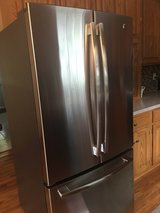 GE Stainless Refrigerator -less than an a year old ! in Sugar Grove, Illinois