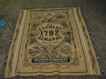 Old Farmers Almanac Throw 4ft x 5ft in Lawton, Oklahoma