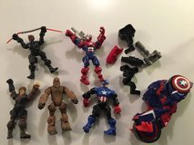 Star Wars & Captain America action figures in Naperville, Illinois