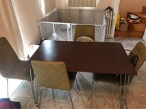 dining table w/ 4 chairs in Okinawa, Japan