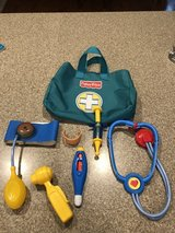 Doctor Bag Toy Set Pretend Play Kit Set Fisher Price in Sugar Grove, Illinois