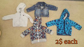 Baby Boy 3 to 6 months jackets/hoodies in Fort Irwin, California