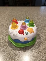 LEAP FROG Counting Candles Birthday Cake Light up Musical Learning Counting Toy in Sugar Grove, Illinois