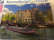 Amsterdam Canal Puzzle, 1000 pieces, of Canal Tour in Amsterdam from Ravensburger in Ramstein, Germany