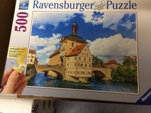 Puzzle, 500 pieces, of Town Hall in Bamberg in Ramstein, Germany