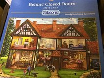 "Gibson Puzzle:  1000 piece puzzle from Gibsons ""Behind Closed Doors"" in Ramstein, Germany"
