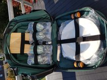 Insulated Picnic Bag with Plates & Silverware - NEW in Stuttgart, GE