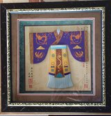 Framed Decorative Chinese Clothing (miniature) in Okinawa, Japan