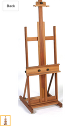 Sturdy Adjustable H-frame Artist Easel in Okinawa, Japan
