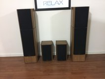 Venturi Surround Sound  Speakers - fronts and rears in Bolingbrook, Illinois
