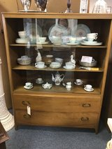 Mid-century display cabinet in Aurora, Illinois