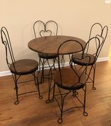 NEW PRICE!!!  Ice cream set table and chairs. in St. Charles, Illinois