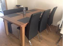 Dining Table Pinewood - extendable for up to 12 in Stuttgart, GE