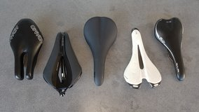 Various Bike Saddles in Ramstein, Germany