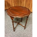 Antique Round End Table from the early 1900's in Glendale Heights, Illinois