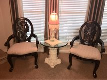 two accent chairs in The Woodlands, Texas
