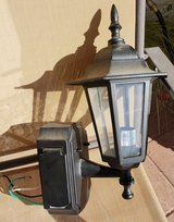 REDUCED Outdoor light with outlets in 29 Palms, California