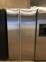 GE stainless refrigerator in Kingwood, Texas