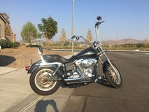 05 Harley Davidson in 29 Palms, California
