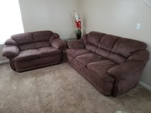 Couch and loveseat in Fort Riley, Kansas