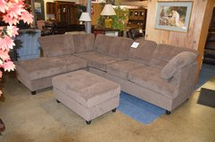 Brand New Sectional with Storage Ottoman in Fort Lewis, Washington